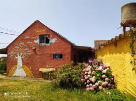 De sol a sol, cabin in Barra de Valizas