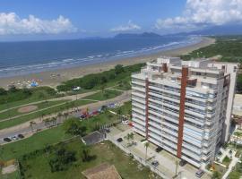 Apartamento pé na areia - Indaiá, Bertioga, apartment in Bertioga