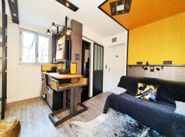 Apartment MiniSteel Loft Brotteaux Part-Dieu, hôtel à Lyon près de: Métro République - Villeurbanne