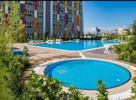 Lego residence (sauna, pools, gym, city center), hotel near Antalya Airport - AYT,