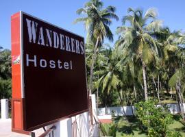 Wanderers Hostel, glamping site in Morjim