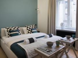 Luxury City Center Apartments close to National Theater, apartment in Zagreb