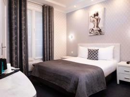 هوتل دو جنيف، فندق في الحي التاسع عشر أوبرا - هاوسمان، باريس