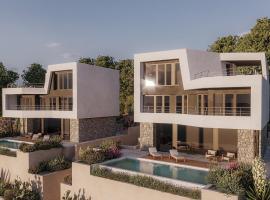 Villa Monachus I, hotel with pools in Brela