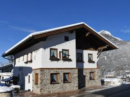 Holzschnitzers Appartements, self catering accommodation in Ehrwald