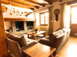 Pleta Ordino 18, Duplex rustico con chimenea, Ordino, zona vallnord, hotel in Ordino