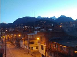 hospedaje luna azul, hostel in Huaraz