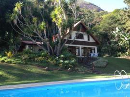 Nosso Sítio - Rancho Santa Clara Itaipava, pet-friendly hotel in Petrópolis