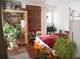 Very large private room with own bathroom, Montmartre, homestay in Paris