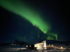 Kerbyggd: Luxury house and cottage in golden circle, casa o chalet en Selfoss