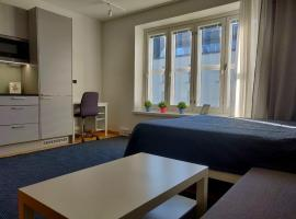 Modern Studio in Helsinki city center, apartement Helsingis