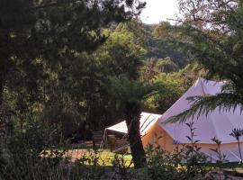 Glamping at Zeehan Bush Camp, camping de luxo em Zeehan