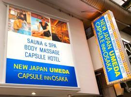 Capsule Inn Osaka (Male Only), hotel a capsule ad Osaka