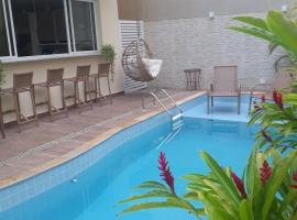 Pousada Ilha das Conchas, hotel with jacuzzis in Guarujá
