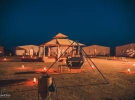 Aladdin Desert Camp, luxury tent in El Gouera