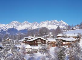 Tennerhof Gourmet & Spa de Charme Hotel, hotel v Kitzbuhelu