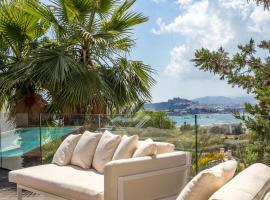 Luxury Sea-View 6/7 Bedroom & 8 Bathroom, hotel in Talamanca