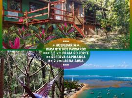 Recanto dos Passaros, homestay in Praia do Forte