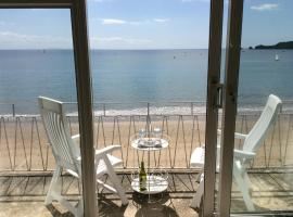Beautiful apartment with stunning sea views, hotel in Saundersfoot
