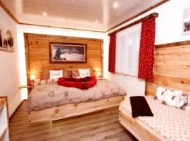 Eberl´s Zirbenlodge, cabin in Ginzling