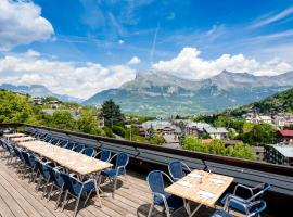 SOWELL HOTELS Mont Blanc et SPA, hotel in Saint-Gervais-les-Bains