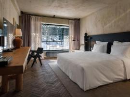 Rooms Hotel Kokhta, hotel in Bakuriani
