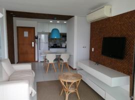 MELHOR APARTAMENTO DO ILOA RESIDENCE RESORT BARRA de SÃO MIGUEL, apartment in Barra de São Miguel