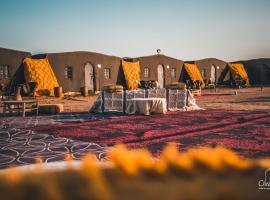 Le Nomade Erg Chegaga Camp, luxury tent in Mhamid