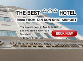 White Diamond Hotel - Airport, hotel in Tan Binh, Ho Chi Minh City