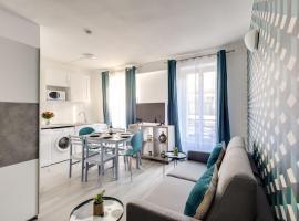 801 Suite Luxury, APT+Terrace, Door of Paris- PRM, hotel in Bagnolet