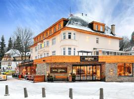Hotel Central 1920, hotel near Ruzova hora - Snezka, Špindlerův Mlýn