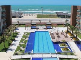 VG FUN - Apto 3 Quartos na Praia do Futuro - Vista Total pro Mar!, hotel with jacuzzis in Fortaleza