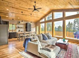 Mountainside Fairplay Cabin with Game Room and Sauna!, hotel with parking in Fairplay