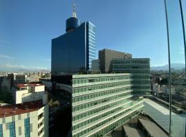Apartamento de 2 habitaciones junto al WTC, serviced apartment in Mexico City