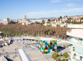 4SEASONS SAN NICOLAS APARTMENT, hotell nära Playa de La Malagueta-stranden, Málaga
