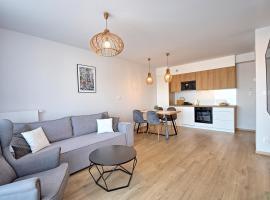 Apartament B 813 w budynku B Blu, apartment in Sarbinowo