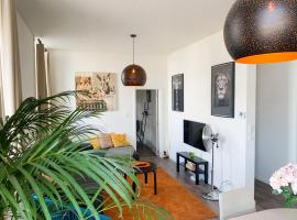 Skyline apartment with view on citycenter, apartment in Antwerp
