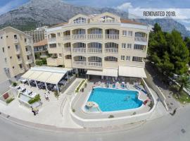 Aparthotel Milenij, hotel near Baška Voda Promenade, Baška Voda