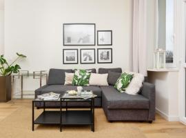 Apartments Warsaw Gagarina by Renters, hotel in Warsaw