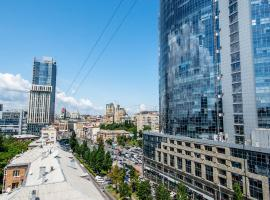 Kyiv Panorama Apartments near Gulliver, hotel in Kiev