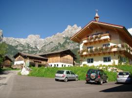 Bio Bauernhof Vorderoberlehen, Hotel in Werfenweng