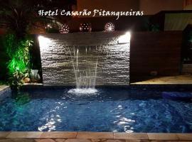 Hotel Casarão Pitangueiras, hotel near Miramar Shopping, Guarujá