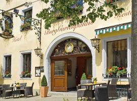 Hotel BurgGartenpalais, hotel in Rothenburg ob der Tauber