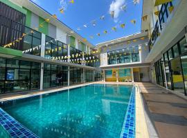 Bed in Beyt Boutique Hotel, hotel in Nonthaburi