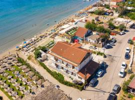 Horizon Beachfront Apartments, Hotel in Laganas