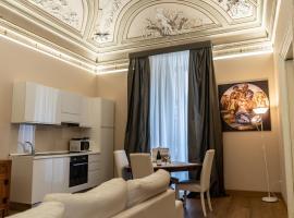 Le Suites del Duca di Sarro, camera con cucina a Catania
