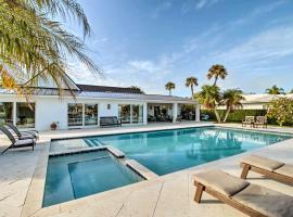 Lavish Vero Beach Escape with Hot Tub and Dock!, vacation rental in Vero Beach