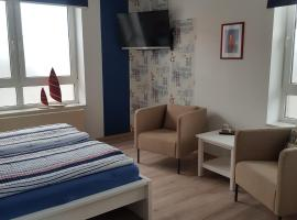 "Pension Blaue Nordseewelle ""Steuerbord"", Bed & Breakfast in Neuharlingersiel"