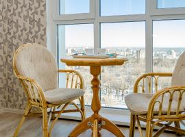 Сеть апартаментов Best Flat - панорамная 1-комнатная в парке, hotel in Belgorod