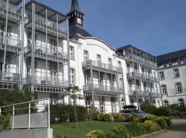 Appartement vue latérale mer, hôtel au Croisic